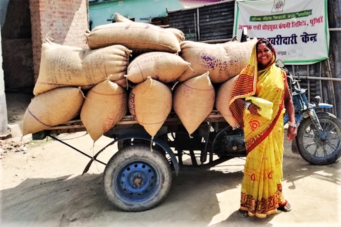 New technology empowers women farmers in India
